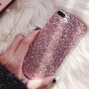 NEW iPhone XSMax/7+/8+/7/8/6+/6S+ Glitter Case